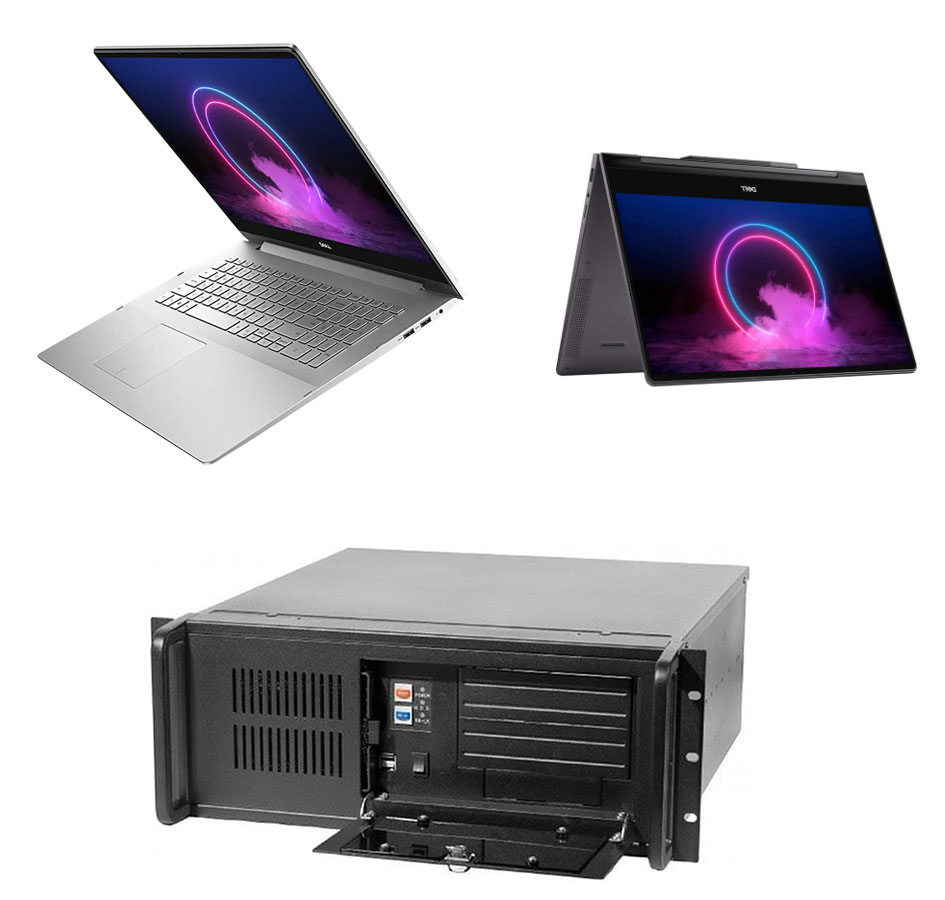 Desktop and laptop tactile